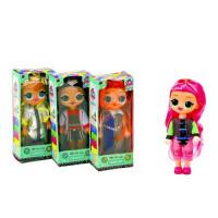 Кукла 3666-87 (96шт) LOL, 16см, светится в темноте, 4вида, в кор-ке, 7-17-5см
