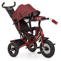 Велосипед M 3115HA-3L (1шт)три кол.резина (12/10),коляс.USB/BT,свет,св.ход кол,торм