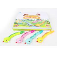 Заводная игрушка 515 (144шт) гусеница, 22см, 8шт(4цвета)в дисплее, 36,5-29-4,5см