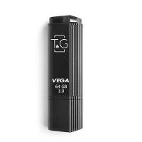 Флешка USB T&G 121 Vega серiя 64GB Black 3.0 USB