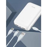 Батарея POWER BANK Baseus Mini JA Power Bank 10000mAh White PPJAN-A02