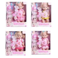 Кукла 30905E1-B8-B2-B3 (8шт) 40см,звук(рус),бутылочка,горшок,соска,подгуз,4вид,в кор-ке,31,5-39-18см