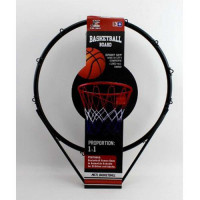 Баскетбольное кольцо MR 0168 (8шт) кольцо 46см(металл), сетка,мяч,насос,крепления,в кор,46-53-11см