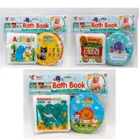 Книжка A510-11-12 (51шт) для купания, 2шт, пищалка, 3вида, в кульке, 30-20-2,5см