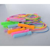 Скакалка MS 3295 (180шт) 280см, веревка-резина, ручка-пластик, подшипник, 5цвето