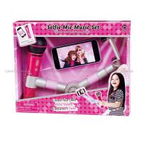 Набор игровой BE1358 (18шт) селфи-палка, микрофон-MP3,свет,муз,на бат-ке, в кор-ке