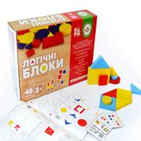 """Гра розвивальна """"Логічні блоки Дьєнеша"""" 48 шт,арт 900408"""