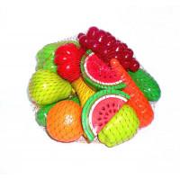 Набір Фрукти - овочі 16 предметів(379)