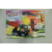 Конструктор Кран 38 детал 013888/18  в картонній коробці 25/35 cv