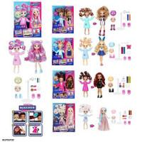 Кукла 3666-1/2/3/4/6 FailFix Total Makeover з набором аксес.5в.кор.32,5*5,5*22 /80/