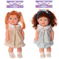 Кукла 229-I (18шт) 36см, звук, 2вида, на бат-ке(табл), в кульке, 19-50-9см