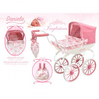 Коляска для куклы Daniela 87021