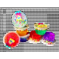 Антистрес-лизун TM Mr.Boo з пінковими кульками 70г /А80008, 27 шт в ящике