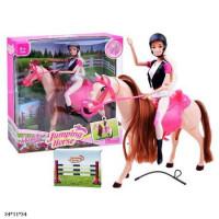 Кукла Anlily 30см 99042 з конем кор.34*11*34 /12/