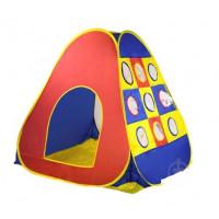 """Палатка GFL-039 (12шт)""""изделие(104*110*104), материал - полиэстер, в сумке d40см"""