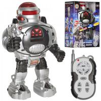 Робот 0465 р/у, стреляет диска, свет, на батар, в короб