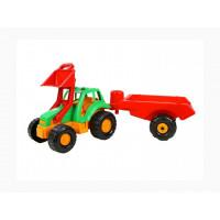 Трактор ОРІОН з причепом (993)