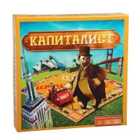 Капіталіст(Україна,Як стати міліонером,Київ) - настільна гра