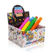 Антистресс трубка Pop Tubes цвета в ассортименте, 9013-9015, 2,9см-19см